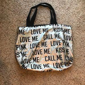 Victoria secret bag very roomy
